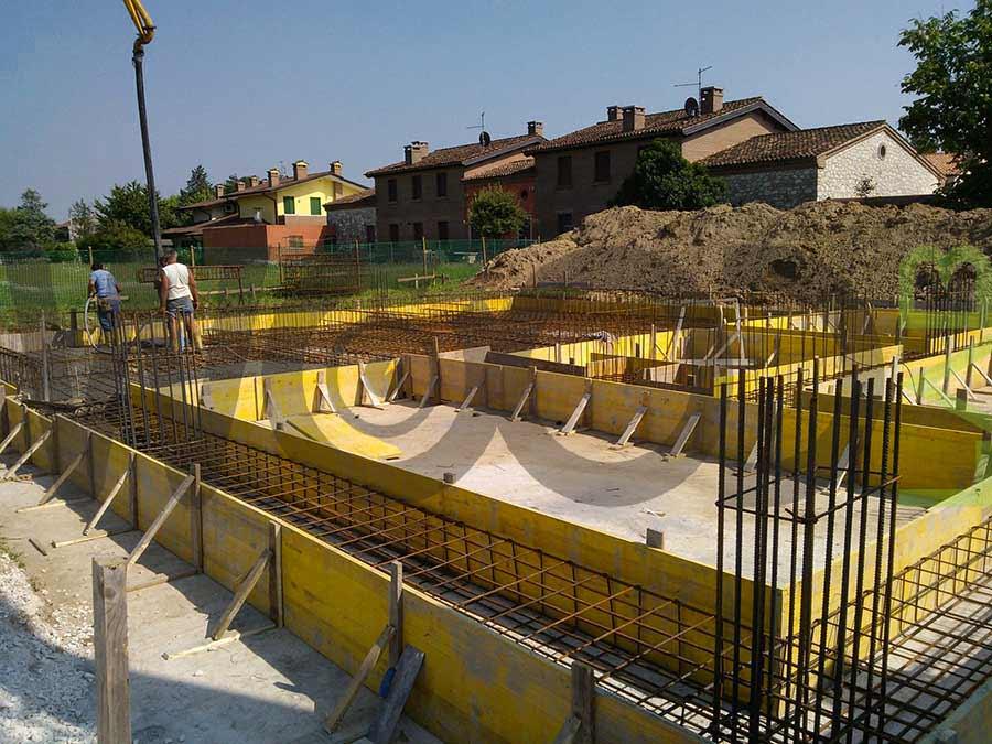 Blog fondazione a platea e a trave rovesciata for Piccola casa costruita su fondamenta
