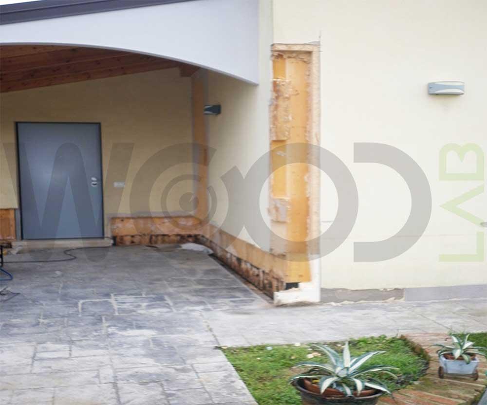 angolo casa in legno