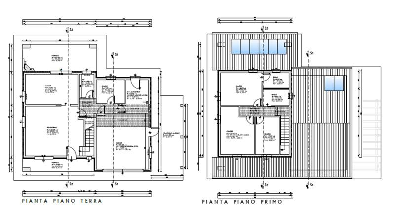 piantina casa comune di longare