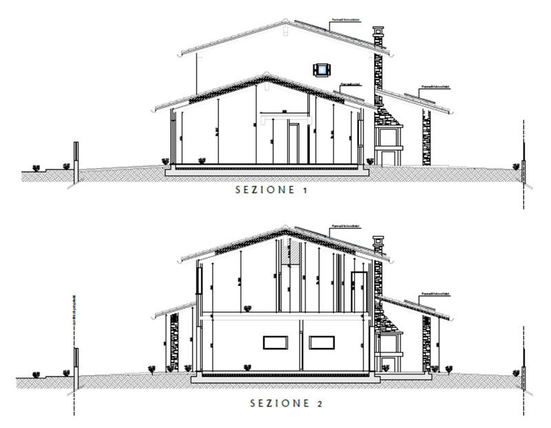 sezioni casa comune di longare