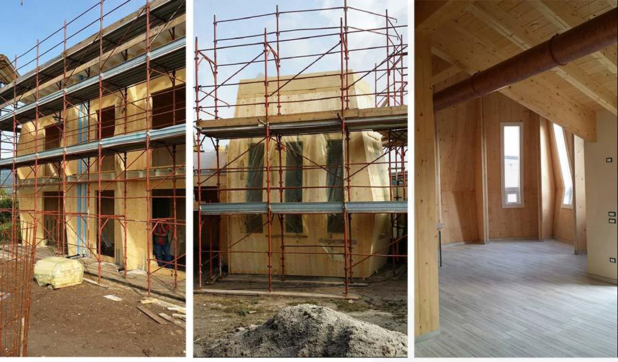 cantiere casa di legno x lam