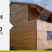 cantiere casa di legno a telaio