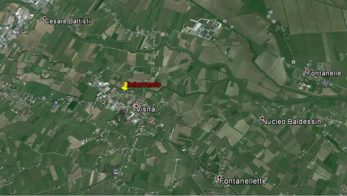 posizione geografica cantiere 311