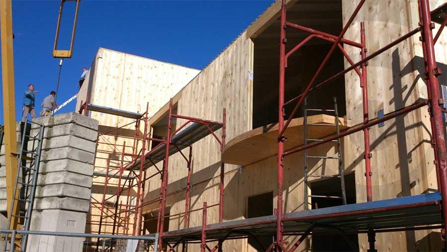 cantiere 686 casa in legno x lam