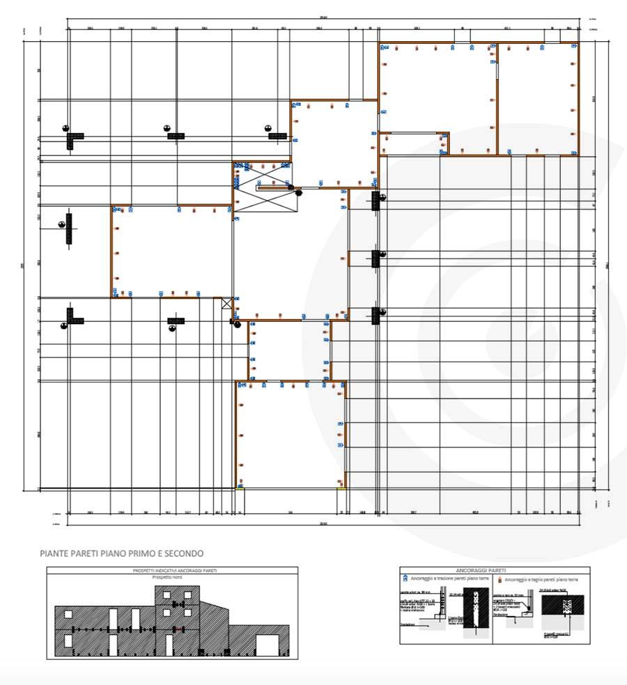 pianta pareti casa x lam 686