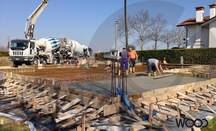 stesura cemento
