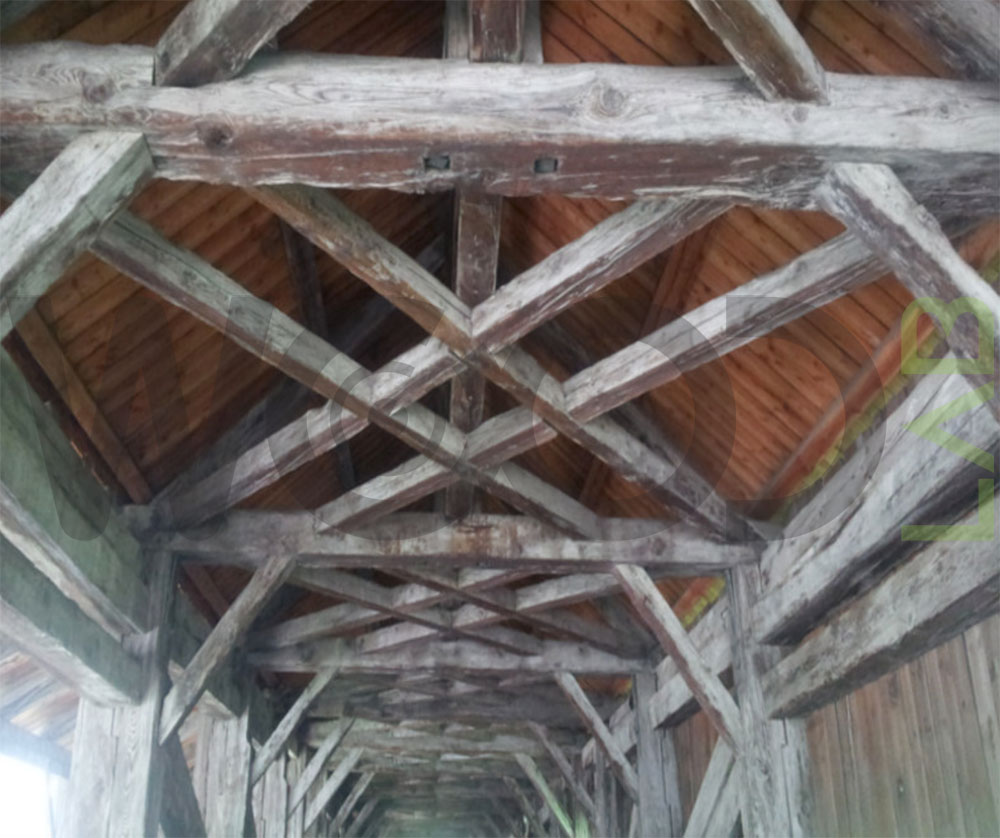 croci di sant'andrea per struttura ponte
