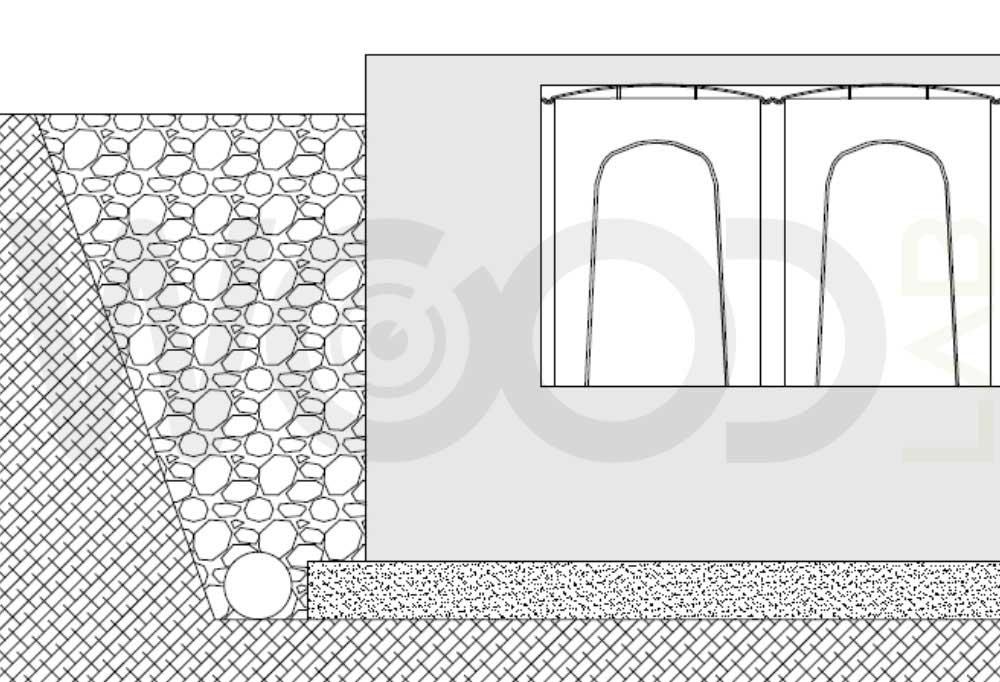 cupolini a igloo fondazioni