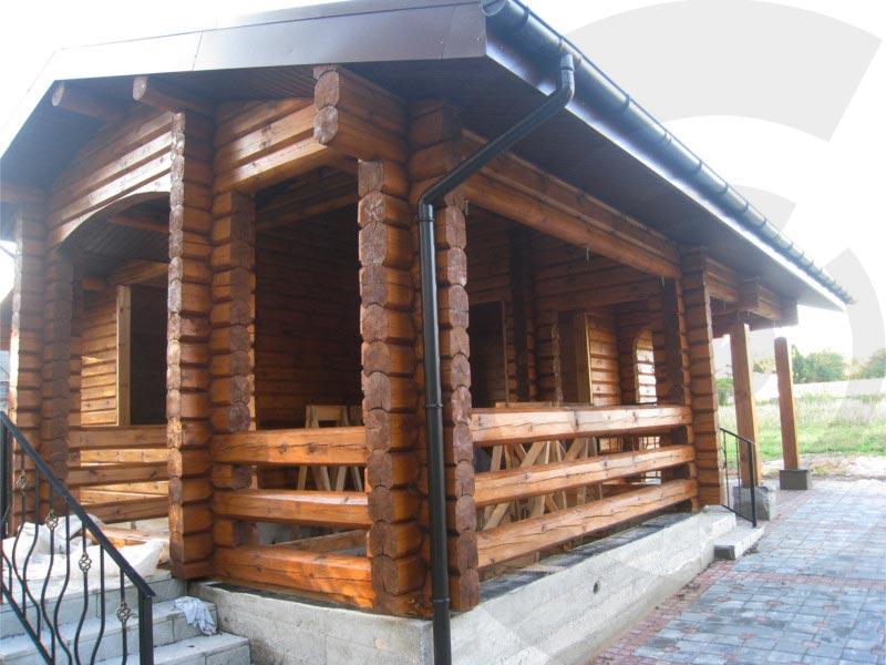 esempio di abitazione con sistema blockbau