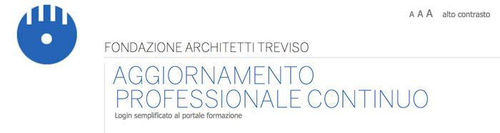 fondazione architetti di treviso