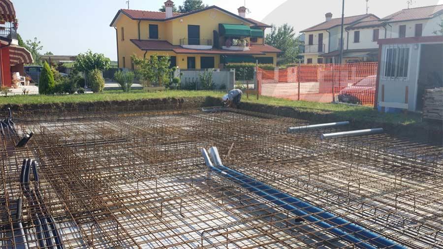 fondazioni casa di legno 911