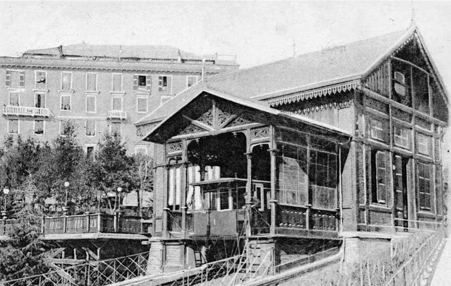 funicolare di sant'anna degli anni 30