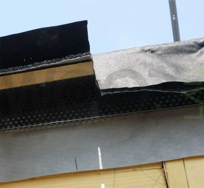 guaina parapasseri per tetto ventilato
