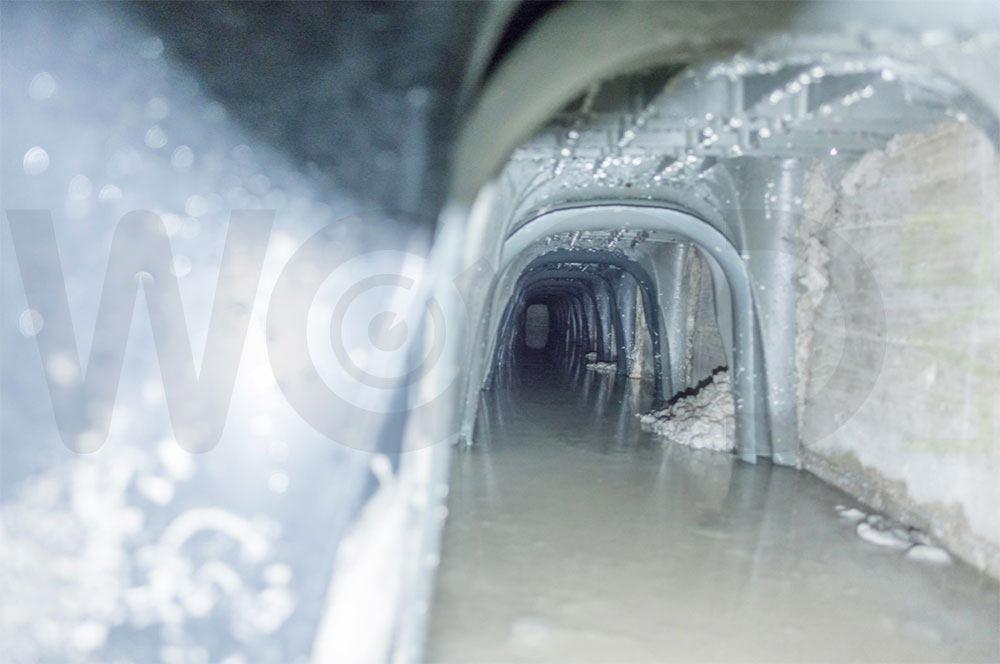 acqua stagnante sotto casa