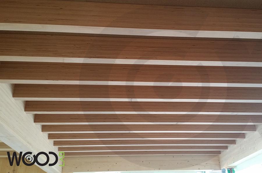 legno micro lamellare solaio