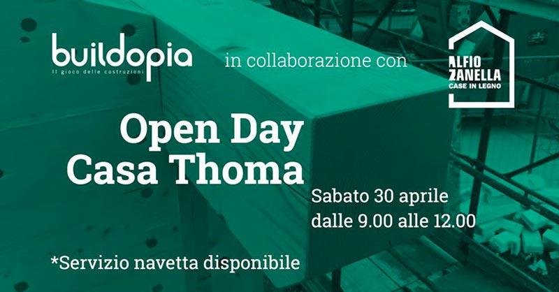 locandina open day thoma