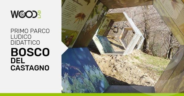 parco ludico didattico del legno di castagno