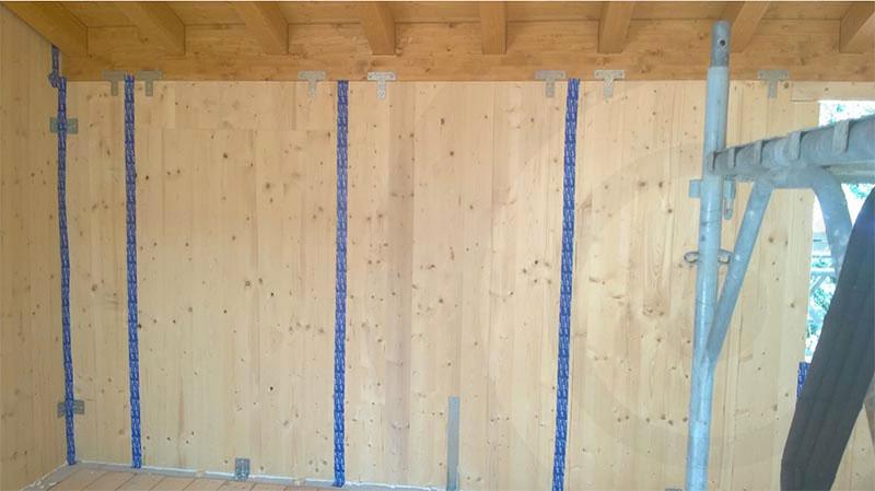 pareti struttura x lam 864