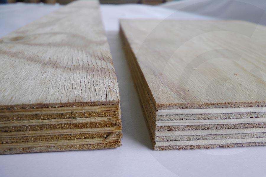 base tavole in pino russo