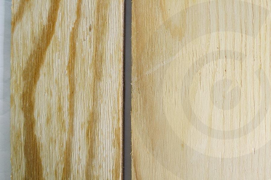 confronto tavole in pino russo