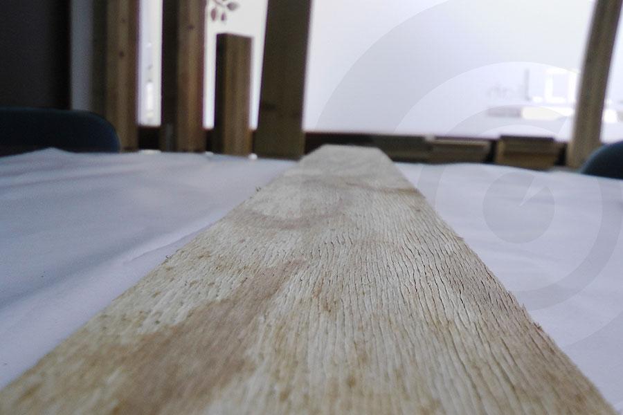 torsione tavole pino russo