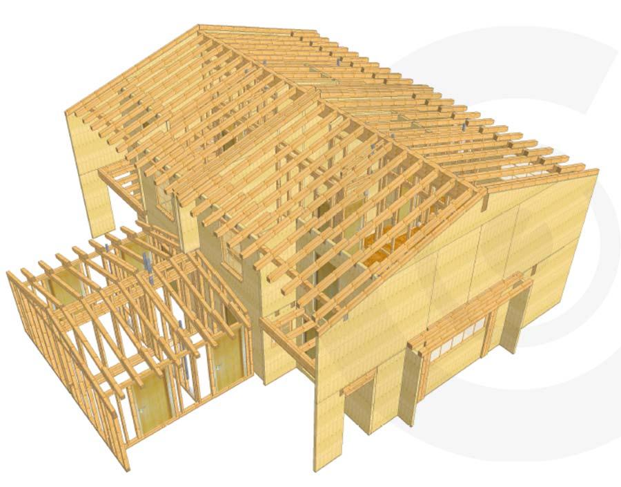 progetto architettonico cantiere 911