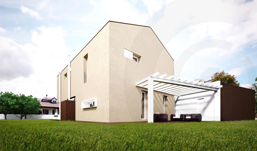 progetto casa in legno x lam