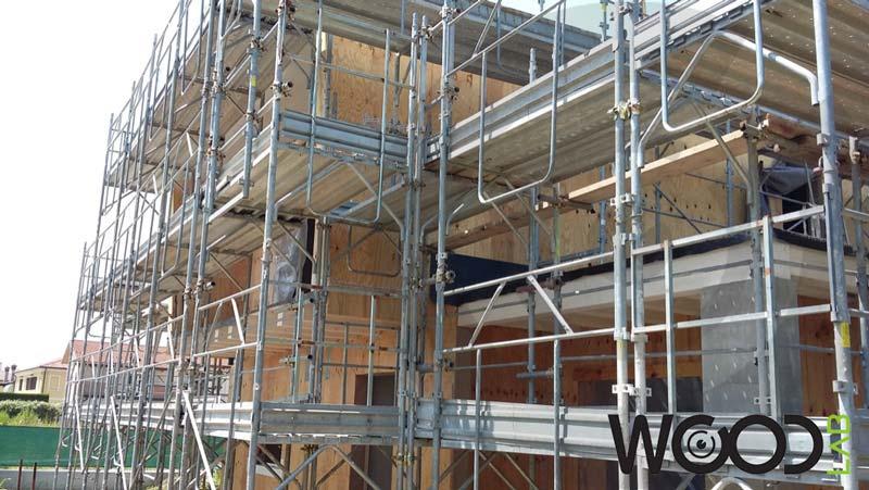 realizzazione casa di legno