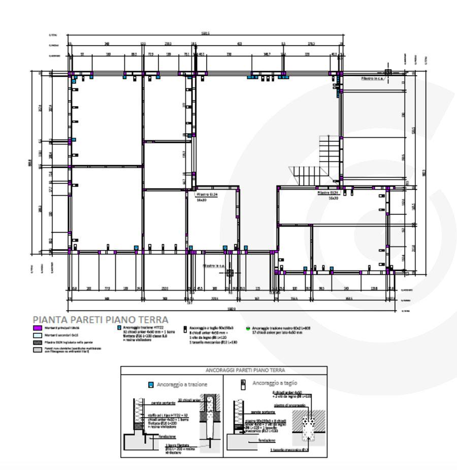 sezine laterale progetto 701