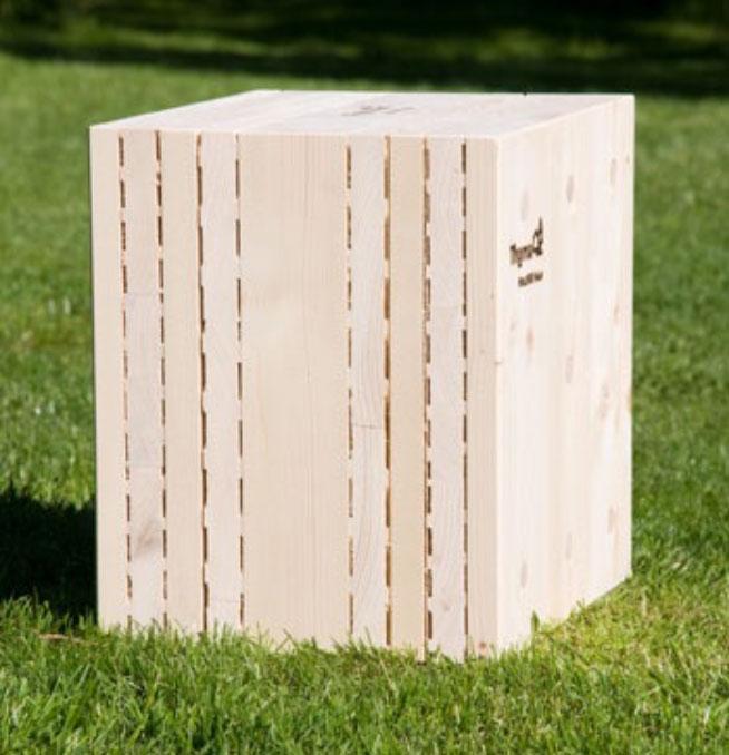 campione di legno lunare
