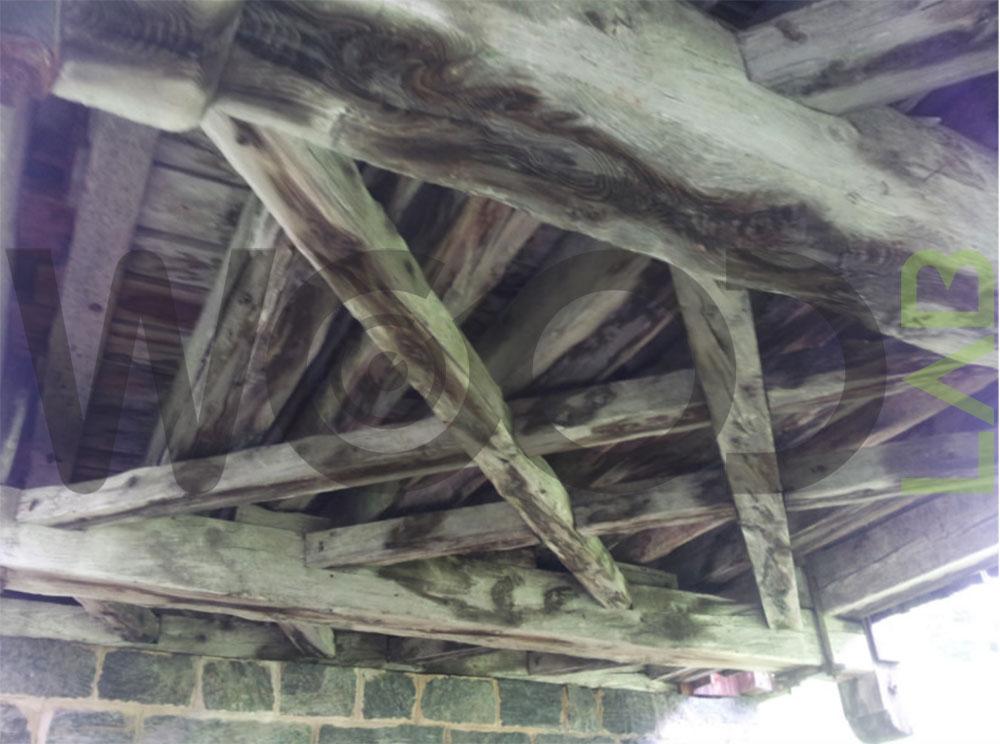 travi ponte di legno