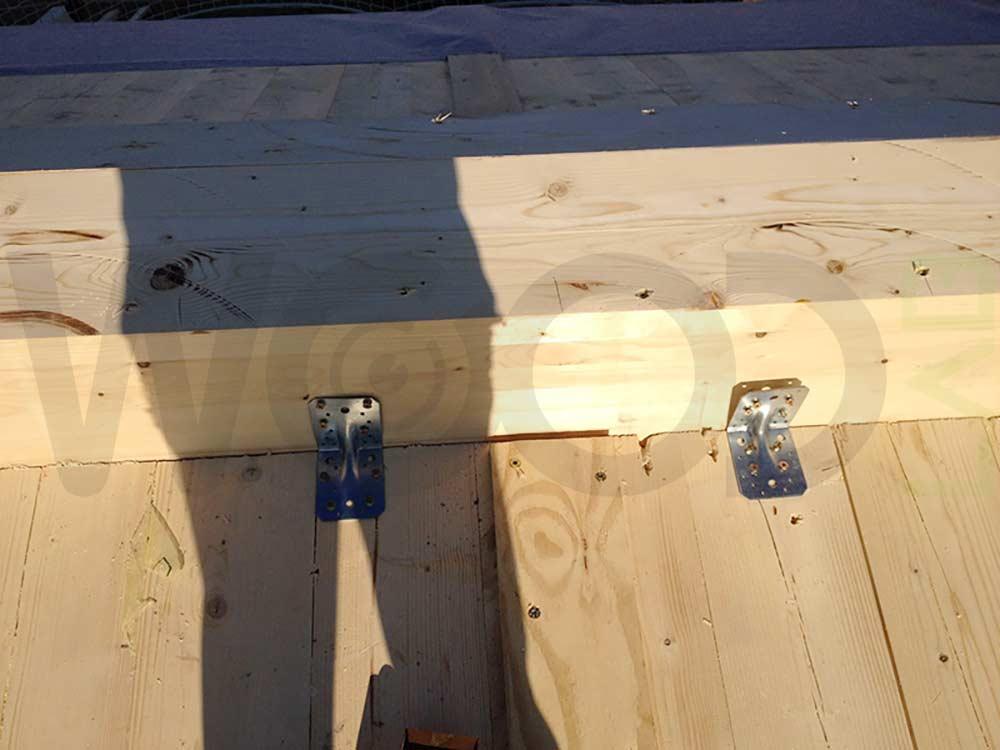 copertura casa in legno
