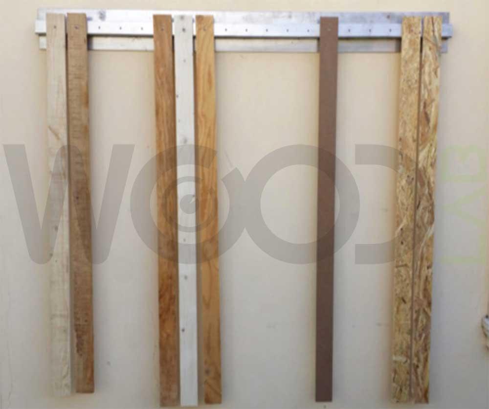 esposizione tavole di legno