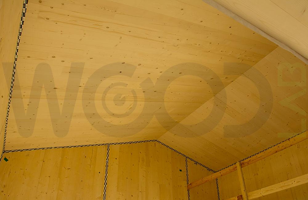 Solaio di casa in legno