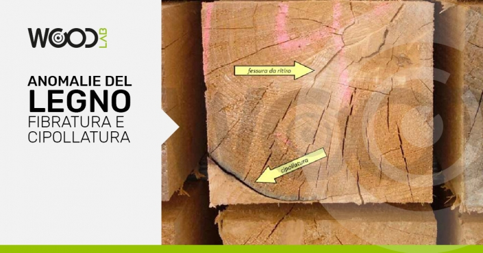 cipollatura del legno