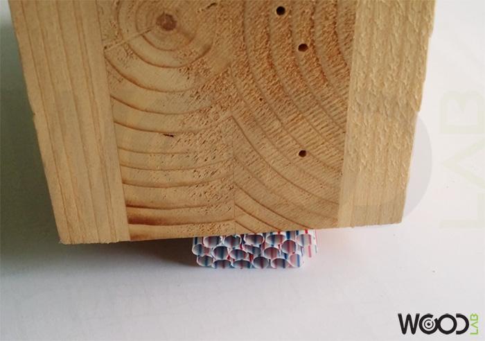 cannucce pressate da legno