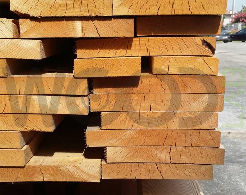 scollamento tavole di legno