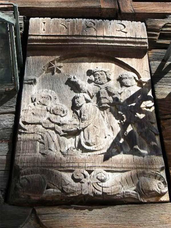 incisione data 1592