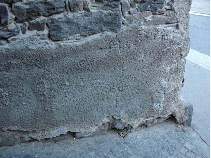 interventi di malta cementizia
