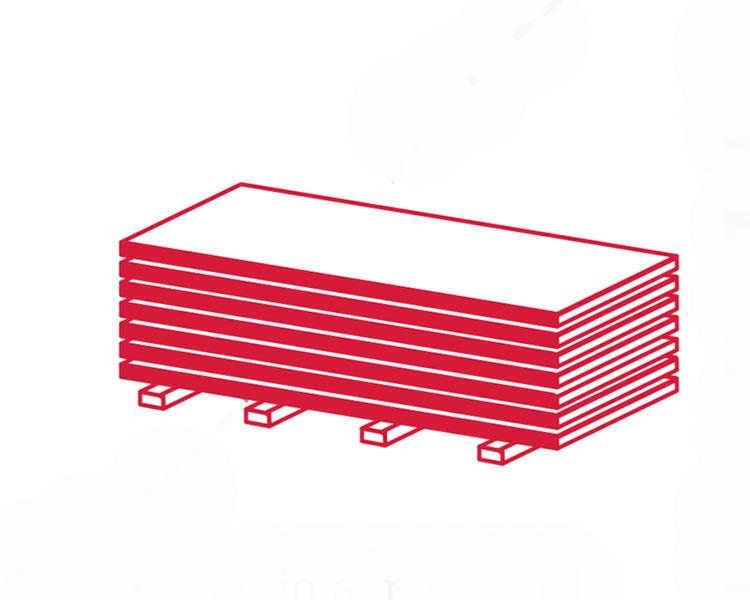 disegno di imballaggio pannelli osb
