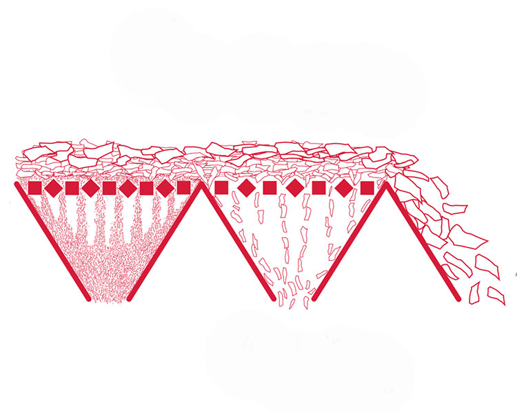 disegno di selezione di truciolari osb