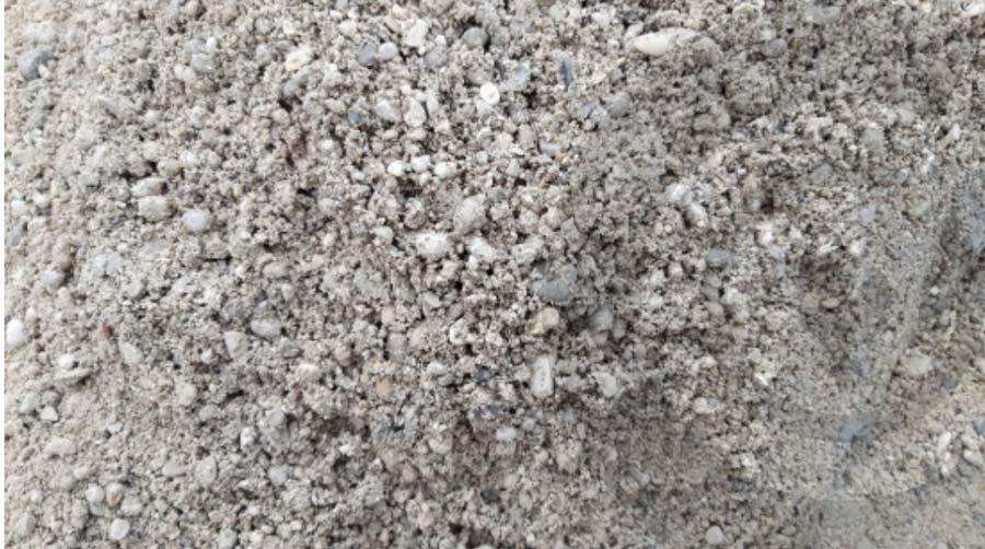 sfondo di sabbia grigia
