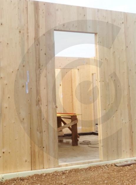 realizzazione sbagliata abitazione legno
