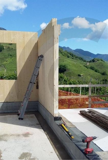 cordolo di rialzo in cemento