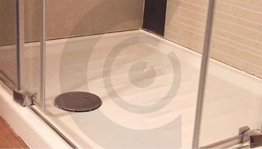 piatto doccia casa in legno