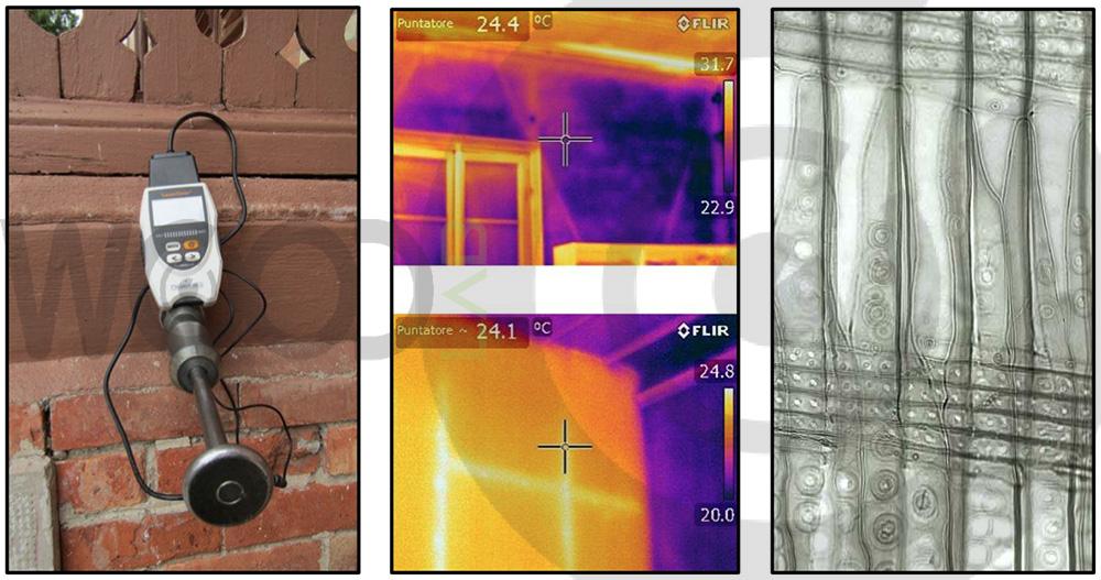 indagine e misurazione umidità