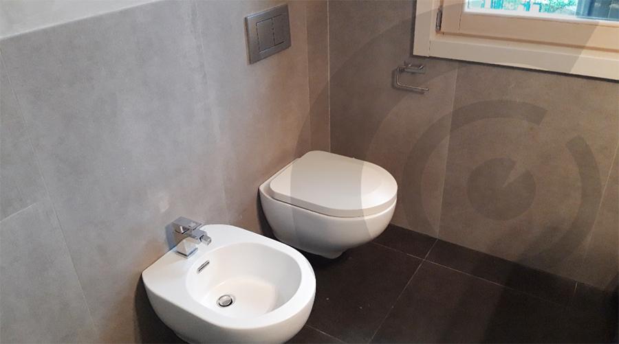 manutenzione dei bagni casa di legno