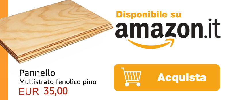 multistrato pino in vendita su amazon