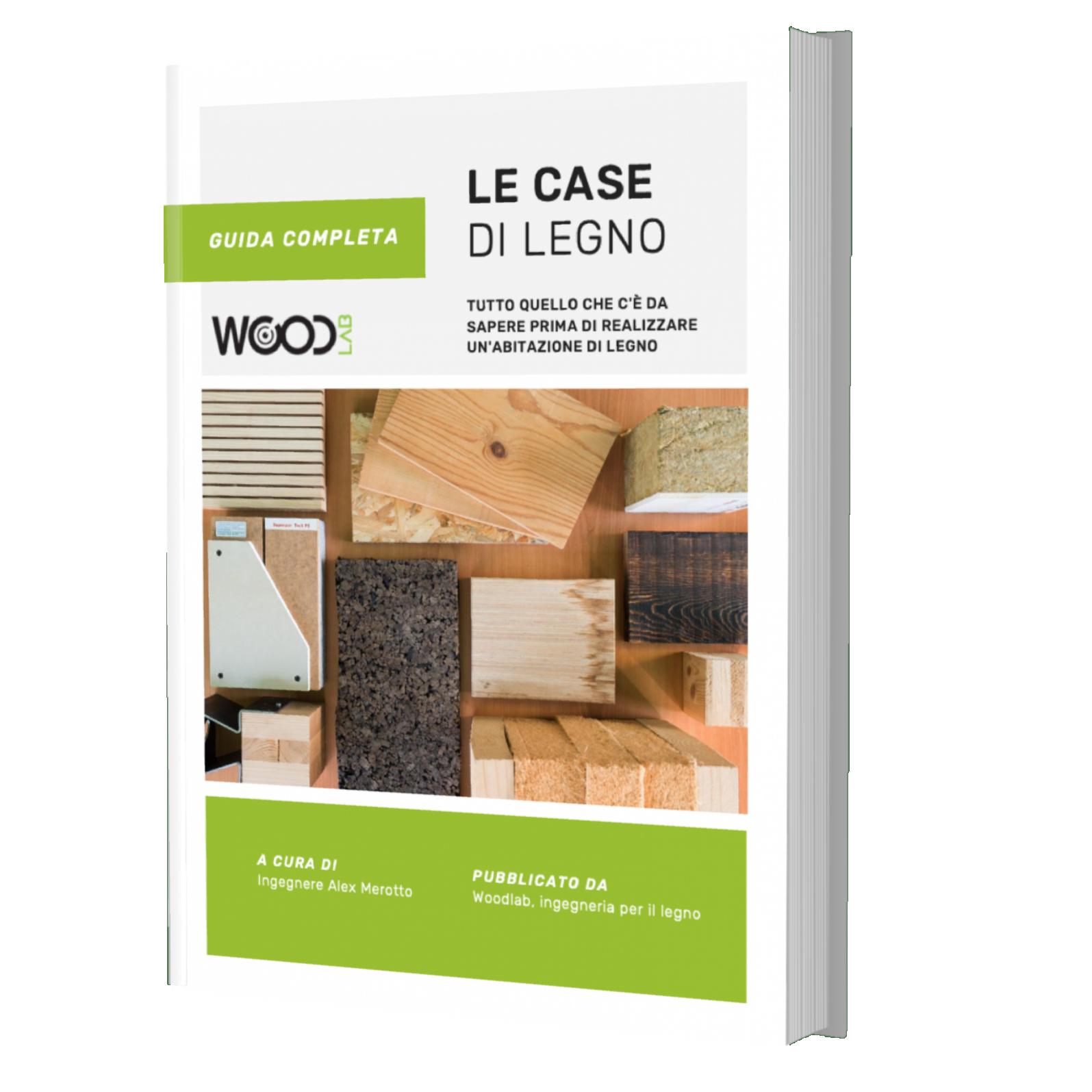 mockup guida case di legno