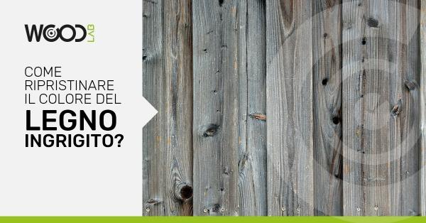 legno vecchio ingrigito